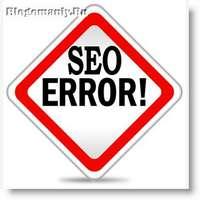 Типичные ошибки в продвижении сайтов